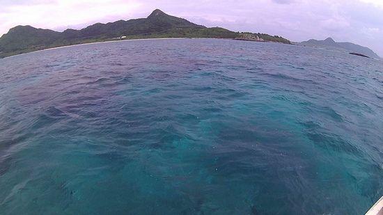 曇りの石垣島です。
