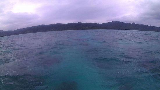 あいにくの曇りの石垣島です。