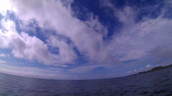 青空が広がる石垣島です。