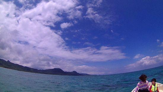 日焼け日和の石垣島です。
