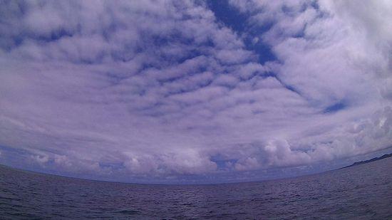 ほんのり青空の石垣島です。