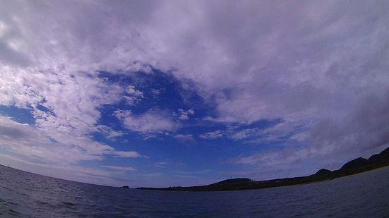 曇りの一日の石垣島です。