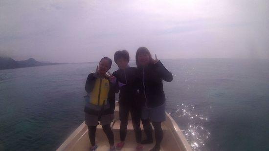 リピーターA山さんとO塚さん、S藤さんです。