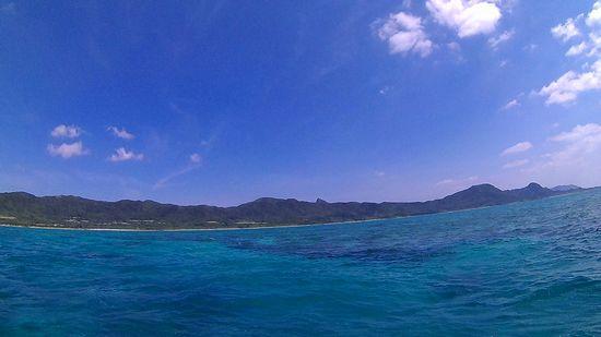 天気は晴れの石垣島ですが