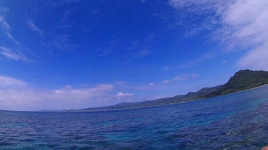 梅雨らしくない天気の石垣島!シュノーケリング日和です。