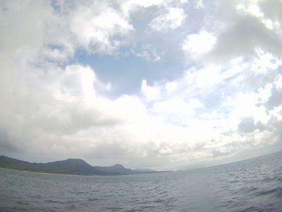 時たま晴れ間の石垣島です。