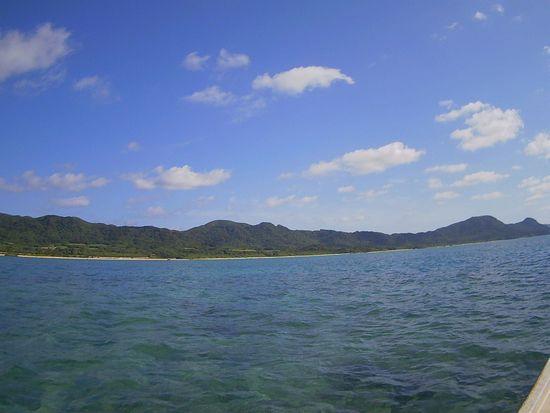 本日も日焼け日和の石垣島です