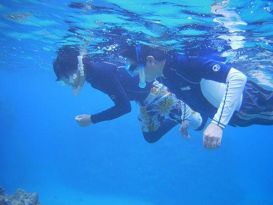 石垣島旅行最終日にご参加のM田さんご夫婦です。