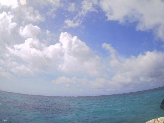 スカッと!晴れた石垣島です。