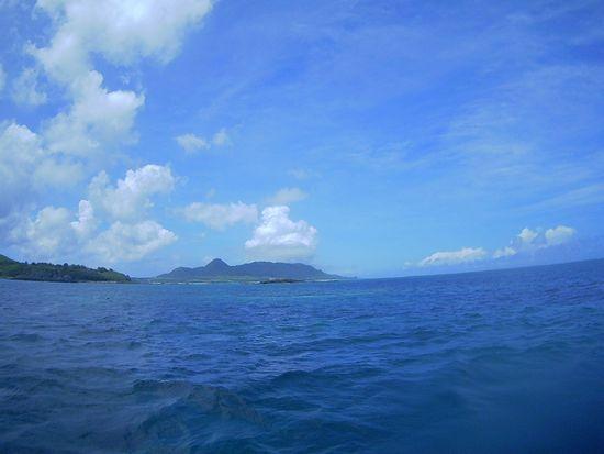 午後からもスカっと晴れの石垣島