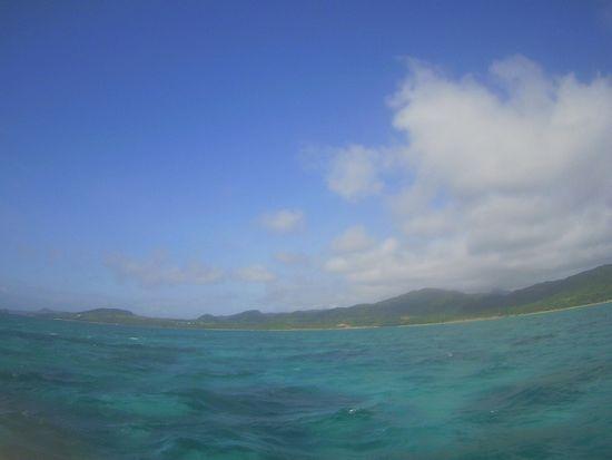今日も天気は晴れの石垣島ですが。。。