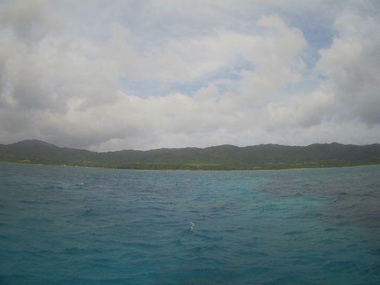 ほんのり曇りの石垣島です。