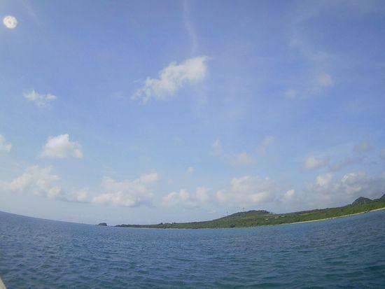 スカッと日焼け日和の石垣島です。