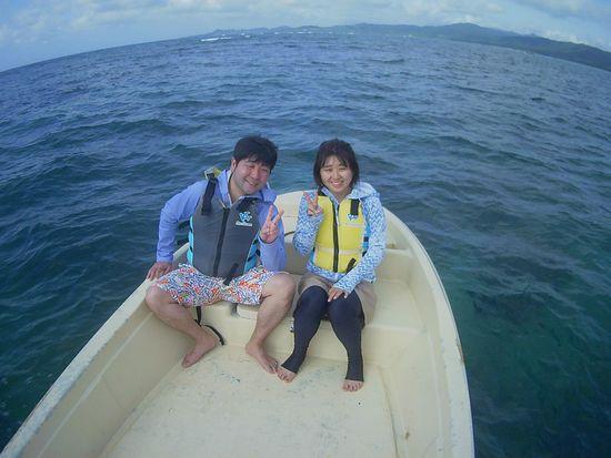 3回目の石垣島旅行、I田さんです。
