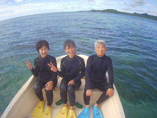 初めての石垣島はH田さんとK本さんご夫婦です。