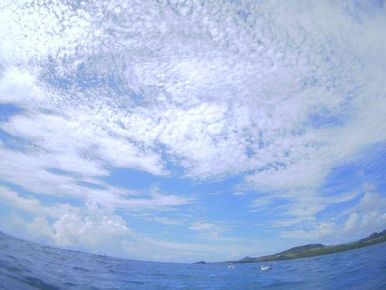 昨日より穏やかな海となりました。