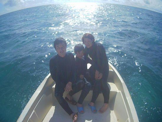 初めての石垣島、O木さんご家族です。