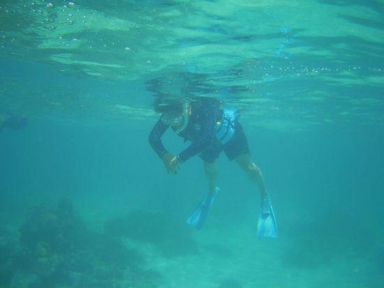 マイペースに泳ぐK澤お父さん