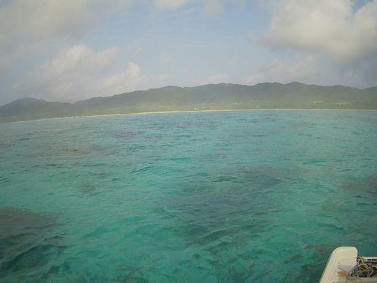 なんだか晴れている石垣島ですが。。。