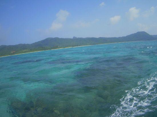 風は、少し強めの石垣島です。