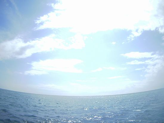 午前はほんのり薄雲、午後からは晴れです。