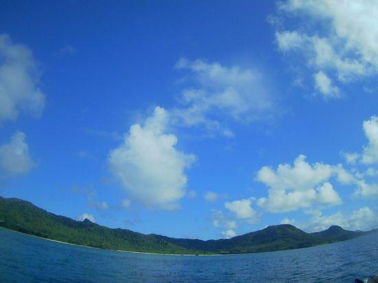 台風の気配はまだない穏やかな石垣島です