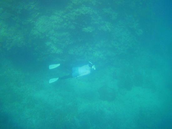 水底8mラインをドボンのA山さん