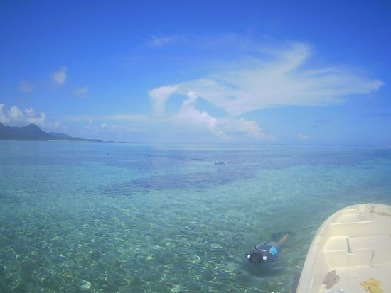 ベストコンディションはまだ続く石垣島です。