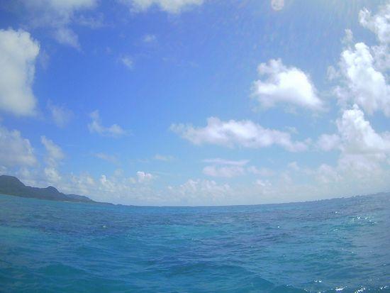 9月最初のシュノーケルツアーは晴れ!の石垣島です。