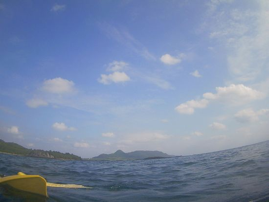 台風後は晴れの石垣島