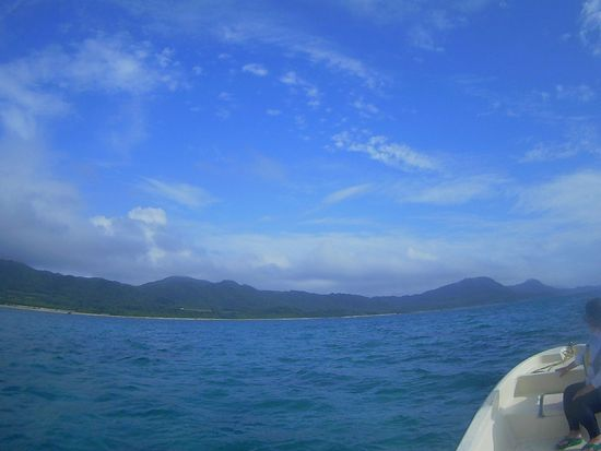 小雨から晴れ!の石垣島です