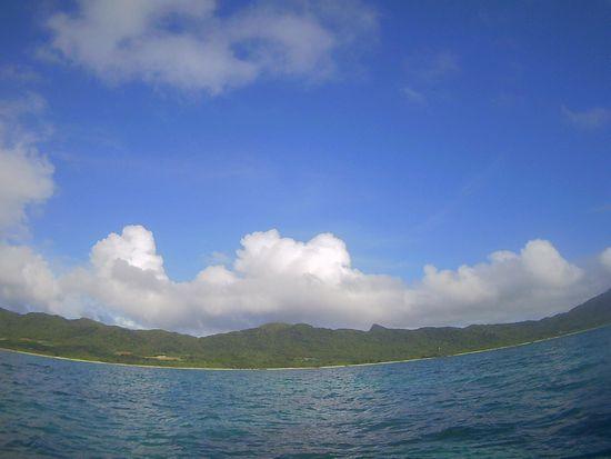 まだ晴れ!の石垣島です