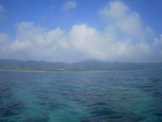 今日も天気は晴れの石垣島です