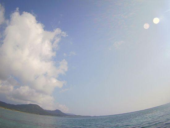 快晴の石垣島です