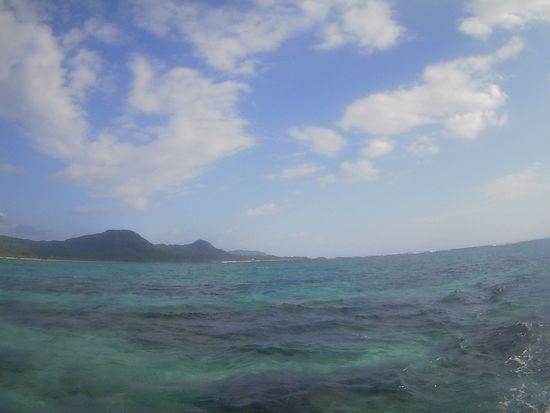 やっと晴れてきた石垣島です