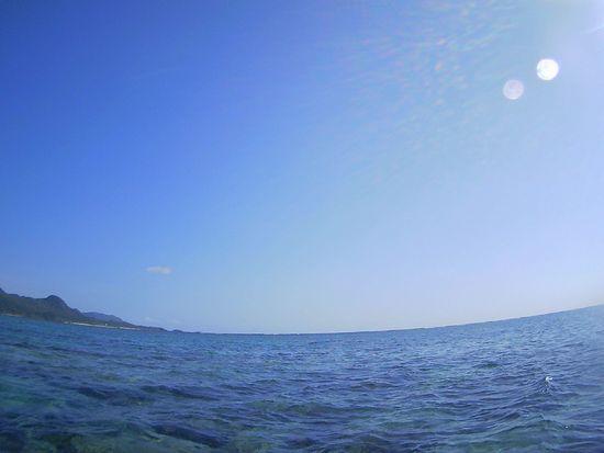 天気は快晴の石垣島です。