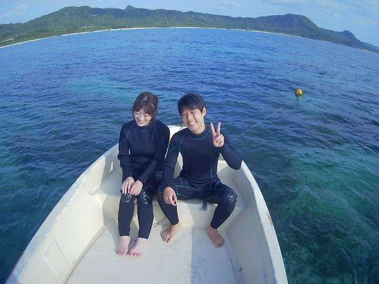 初めての石垣島、I川さんご夫婦です