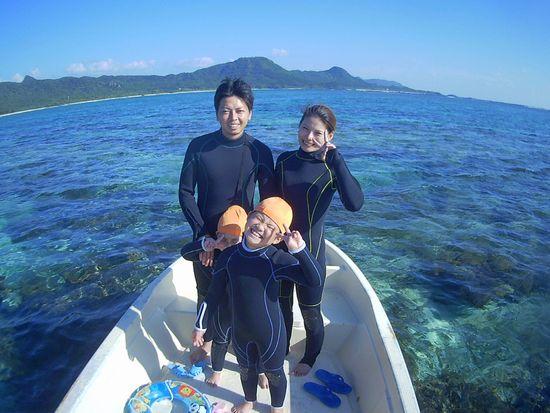 I橋さんご家族です。