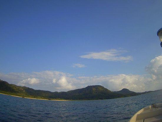 青空がきれいな石垣島です。