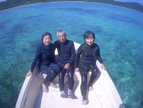 リピーターU子さんと、H崎さんです。
