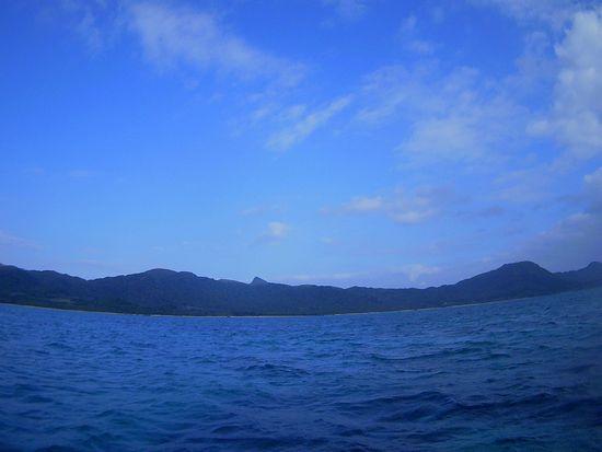 青空が広がったりの天気です
