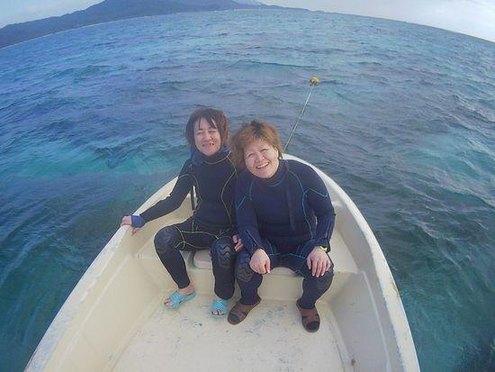 リピーターM口さんとA山さんです。