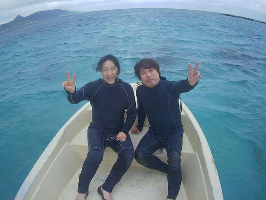1泊2日、弾丸石垣島旅行、M喜さんです