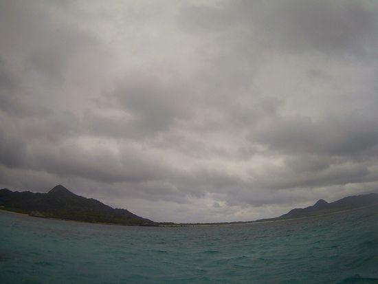 どんより雲の石垣島