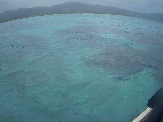 石垣島の大晦日。曇りです