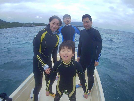 H替さんとO澤さん。 そしてT橋お母さんと三年生のソウ君