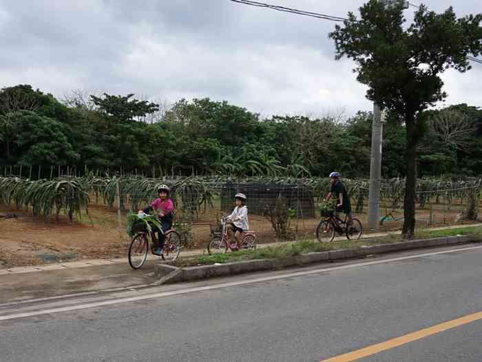 自転車に乗って3分で到着です!