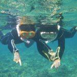 ちびっこも石垣島の海を満喫