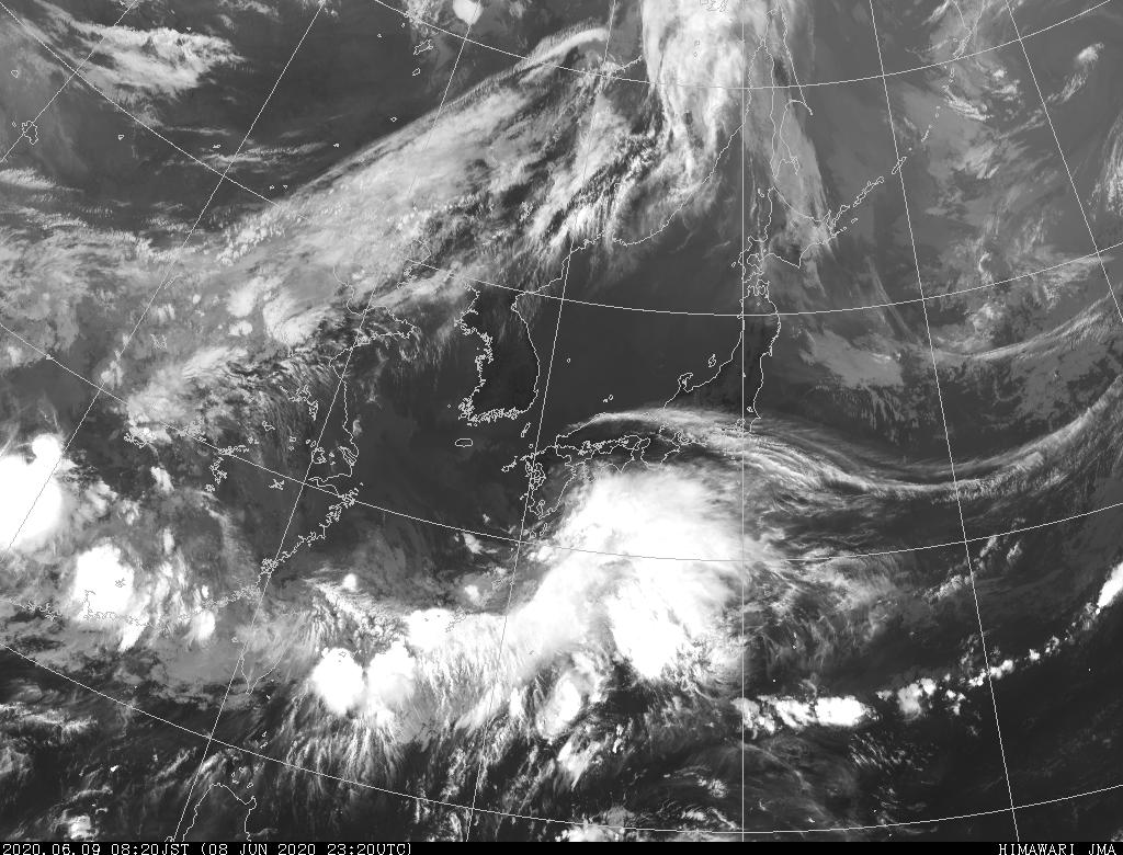 石垣島の気象衛星