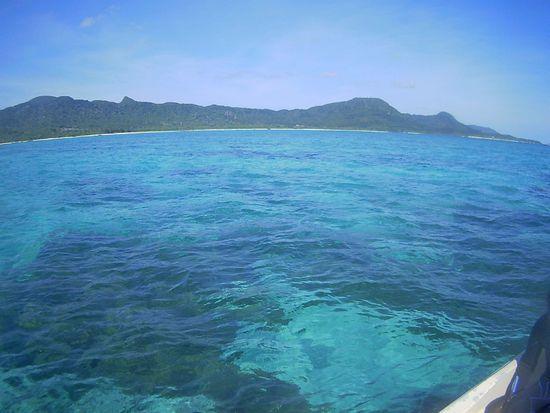 本日快晴の石垣島です